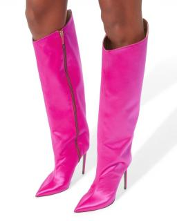 Alexandre Vauthier Alex Shocking Pink Boots