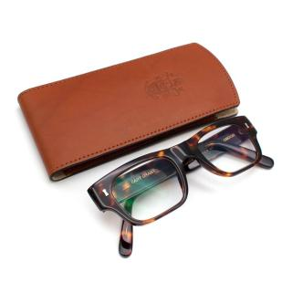 C.W. Dixey & Son Brown Tortoiseshell Cary Grant Glasses