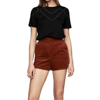 Maje Ivelle Corduroy Shorts