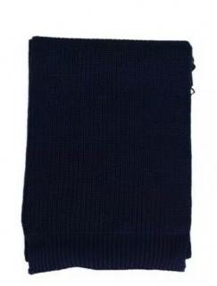 Dolce & Gabbana Blue Virgin Wool Scarf