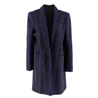 Christopher Kane Leopard-print Crombie Coat