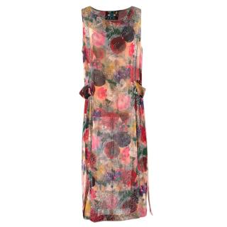 Libertine Painted Flowers 1930s Dress