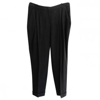 Alexander McQueen Mens Cropped Pants