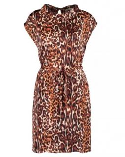 Clements Ribeiro Leopard Print Shift Dress