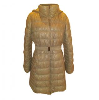 Weekend Max Mara Quilted Hooded Down Coat
