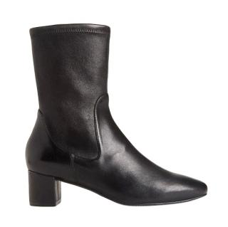 Stuart Weitzman Ernestine Leather Sock Boots