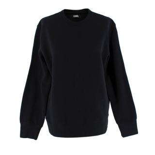 Reformation Rio Classic Black Sweatshirt