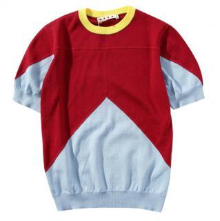 Marni Colourblock Kids 4Y Jumper