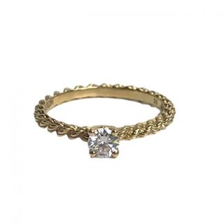 Boucheron 18ct Yellow Gold Serpent Boheme Diamond Ring