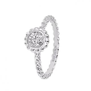 Boucheron 18ct White Gold Serpent Boheme Diamond Ring