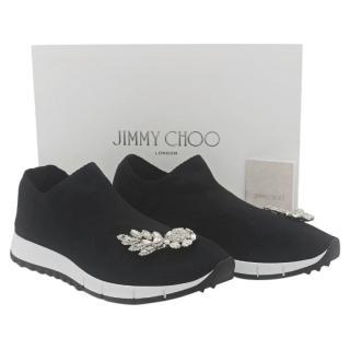 Jimmy Choo Verona crystal-embellished sneakers