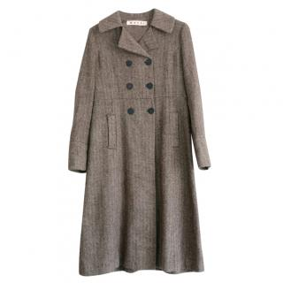 Marni Vintage Chevron Vintage Coat