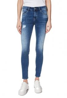Trussardi Distressed Cuffed Slim Jeans