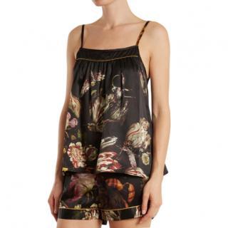 Morpho + Luna Coco silk camisole top