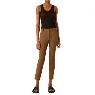 Joseph New Eliston Stretch Khaki Trousers