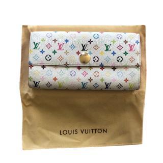 Louis Vuitton Multicolore Monogram Sarah Wallet