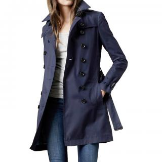 Burberry double-breasted lightweight trench