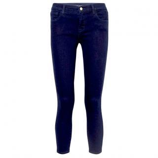 J Brand Maria Midnight Blue Skinny Jeans