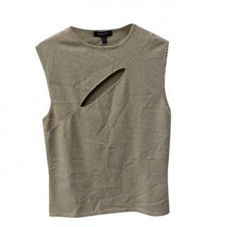 Burberry Grey Sleeveless Vest