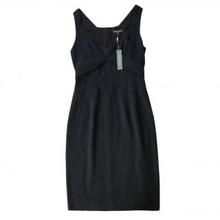 Zac Posen Black Crepe Dress