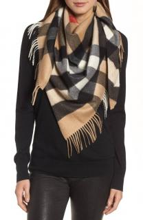 Burberry Cashmere Limited Edition Triangle Scarf