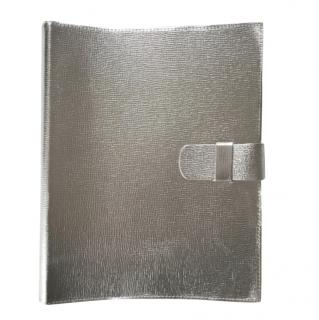 Pratesi Grained Leather Silver Photograph Album