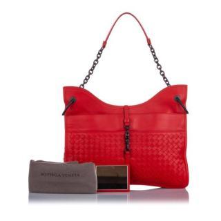 Bottega Veneta Intrecciato Beverly Shoulder Bag