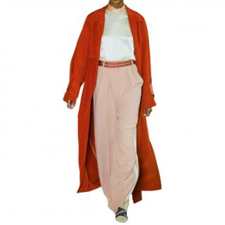 Roksanda Tillae striped cady wide-leg pants
