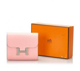 Hermes Epsom Constance Compact Wallet
