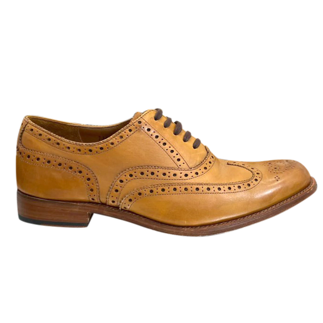 Grenson Tan Leather Archie Brogues