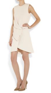 Vionnet Pale Pink Crepe Sleeveless Draped Dress
