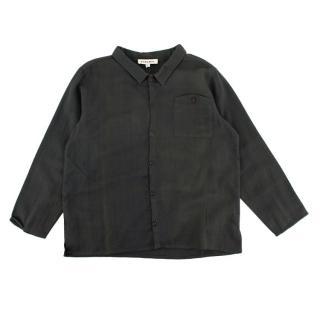 Caramel Dover Shirt in Dark Slate