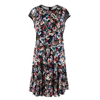 Erdem Darlina Dress in Gloria Ponte Jersey