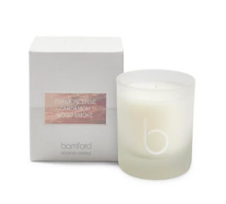Bamford Frankincense Cardamom and Wood Smoke Candle 190g