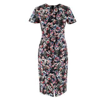 Erdem Gloria Garden print jersey dress
