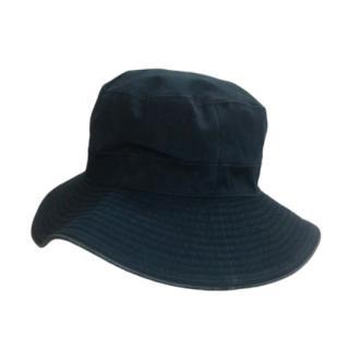 Hermes Vintage Black Bucket Hat
