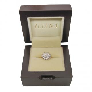 Iliana Diamond Cluster 18kt Yellow Gold Ring
