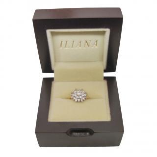 Iliana Diamond Cluster 18kt Yellow Gold Ring