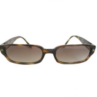 Chanel Crystal Embellished Tortoiseshell Sunglasses