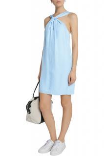 Rag & Bone Blue Halterneck Dress