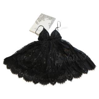 Majorlaine Ivresse Lace Babydoll Dress & Thong