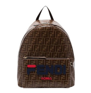Fendi Mania double F logo backpack