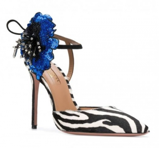 Aquazzura Disco Flower Sandals 105