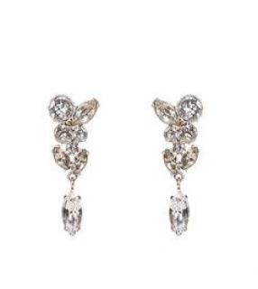 Jenny Packham Crystal Loren Drop Earrings
