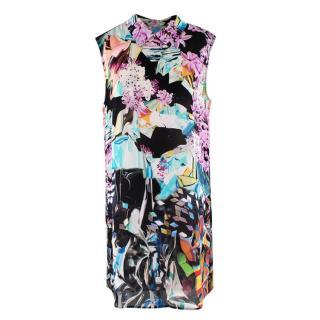 Mary Katrantzou Multi-coloured Floral Pattern Shift Dress