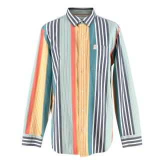 Aim� Leon Dore Multi-coloured Striped Oxford Shirt