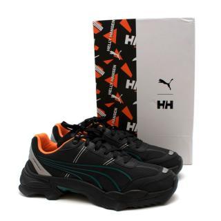 Puma Nitefox Helly Hansen Black Trainers