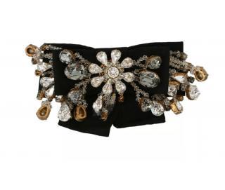 Dolce & Gabbana Crystal Embellished Hair Barrette