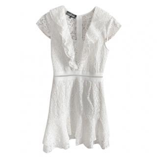 Designers Remix Collection Lace White Dress