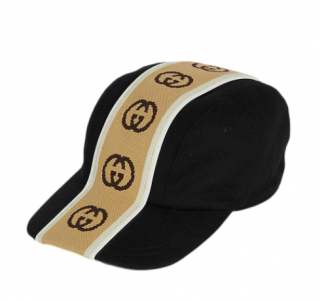 Gucci Logo Stripe GG Cap
